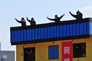 平成27年 岡崎市消防出初式 消防訓練展示