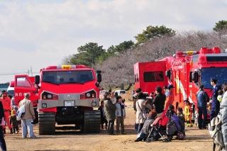 平成27年 岡崎市消防出初式 車両展示