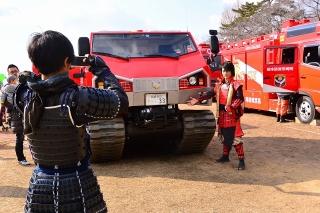 平成27年 岡崎市消防出初式 グレート家康公「葵」武将隊