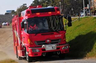 平成27年 岡崎市消防出初式 撤収風景