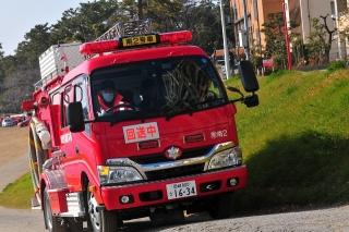 平成27年 岡崎市消防出初式 撤収風景 消防ポンプ自動車