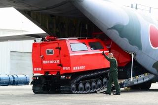 航空自衛隊 小牧基地オープンベース 岡崎消防 レッドサラマンダー