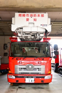 中はしご車 はしご付消防自動車(54m)