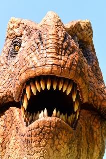 岡崎市東公園 恐竜モニュメント ティラノサウルス