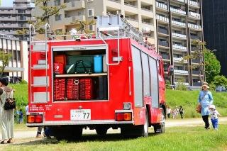 第42回 岡崎こどもまつり 化学消防ポンプ自動車