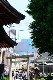 栄ミナミ音楽祭'15 富士浅間神社前
