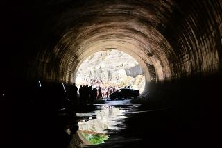 安永川トンネル通り抜けウォーキング