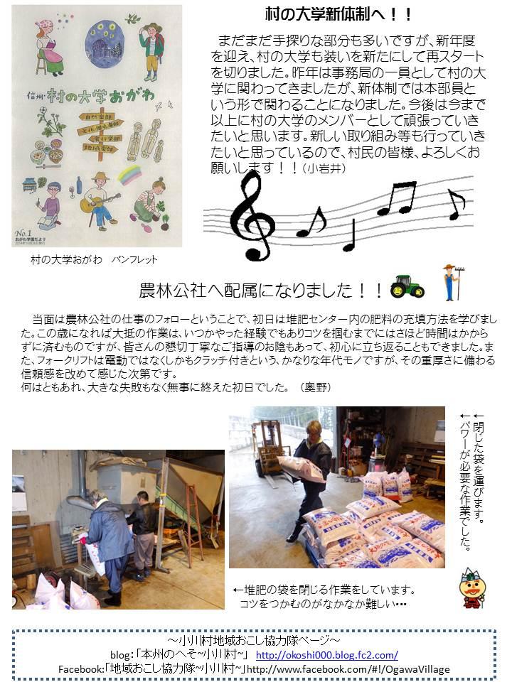 第35号協力隊新聞2