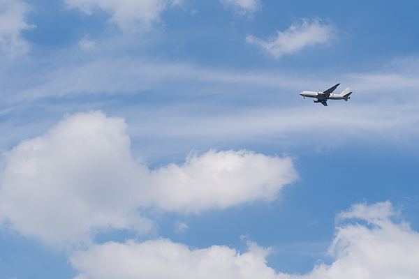 飛行機風景-1