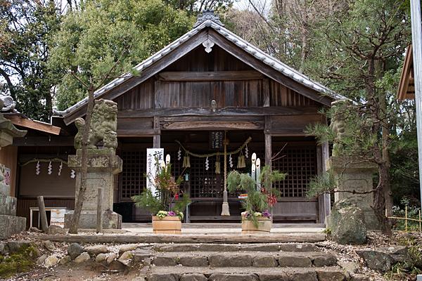 尾張戸神社拝殿