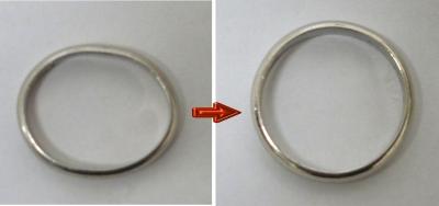 指輪の変形_リング_曲り