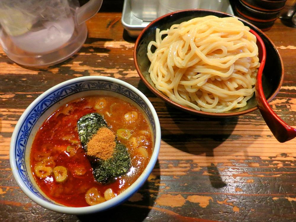 三田辛つけ麺1