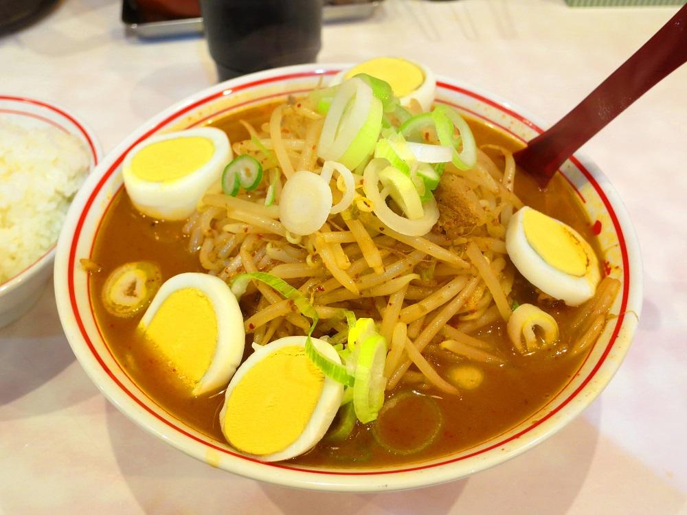 味噌卵麺1