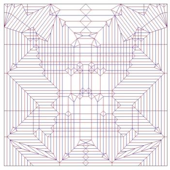 簡単 折り紙:折り紙 展開図-orisugi.blog.fc2.com