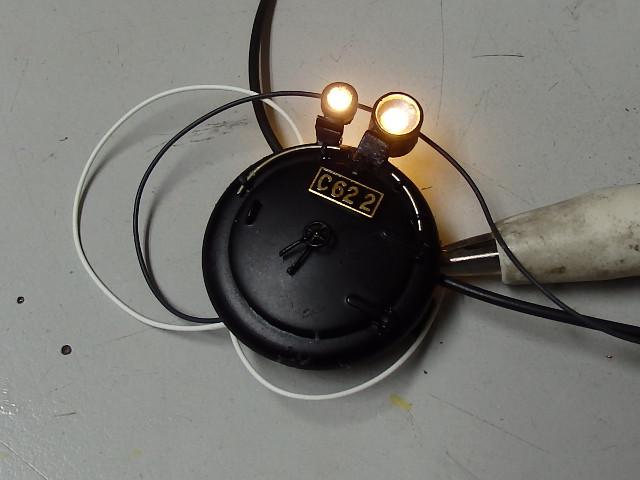 C62-2のヘッドライト点灯化