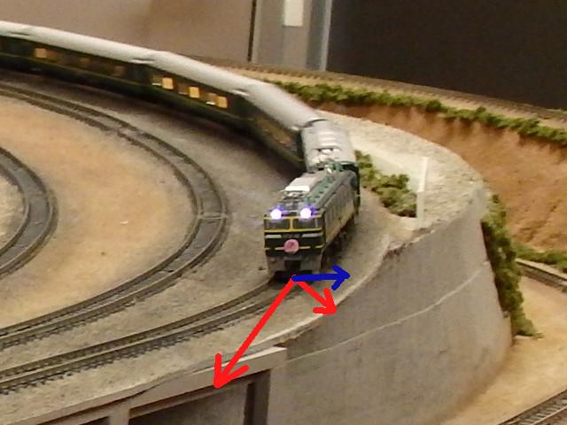 ローフランジ車輪の脱線現象