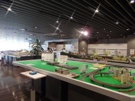 2階はレンタルレイアウトとイベントスペースです。