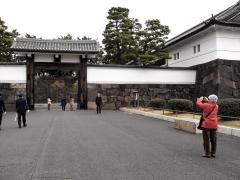 有楽町線の桜田門駅を出るとすぐ目の前に桜田門がありました。