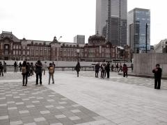 新しくなった東京駅を初めて見ました(笑)。