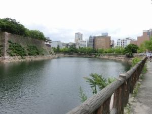 20150627_16大坂城お堀