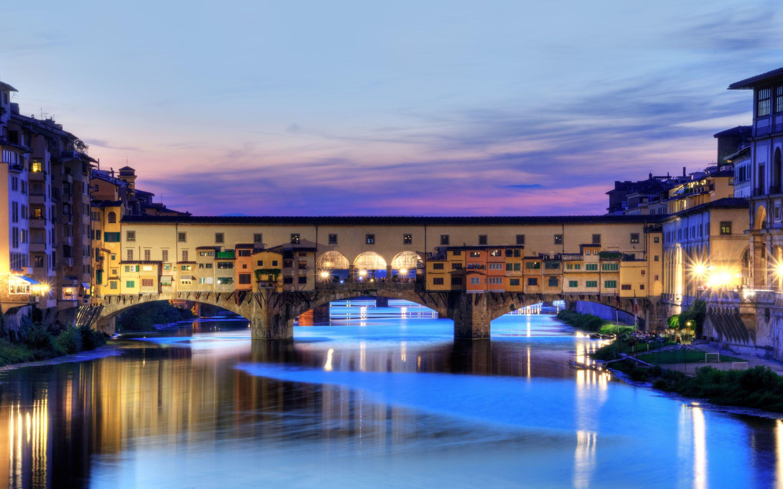 World-ポンテヴェッキオ、フィレンツェ、イタリア