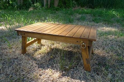 木製テーブル03