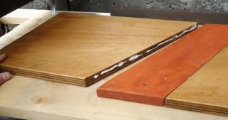 201505 土間テーブル 天板製作
