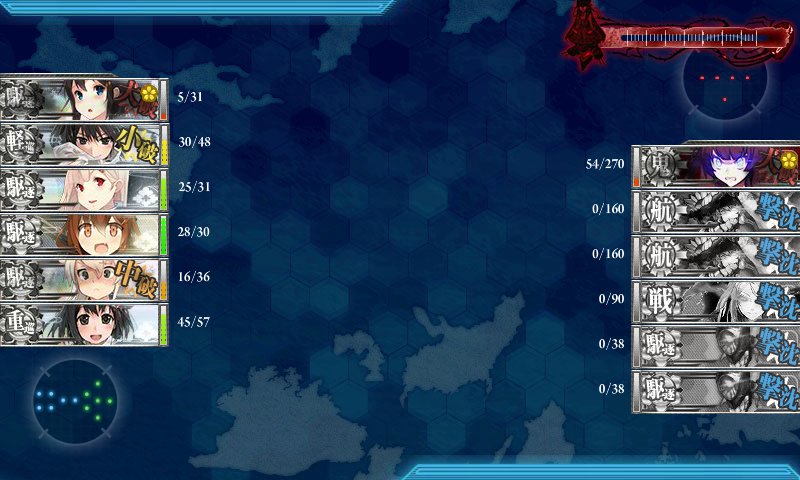 艦これ冬イベE-3