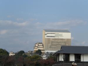 姫路城 修理中