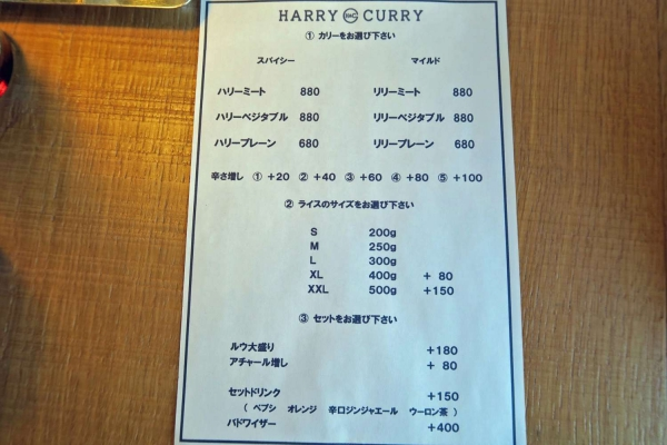 HARRY CURRY
