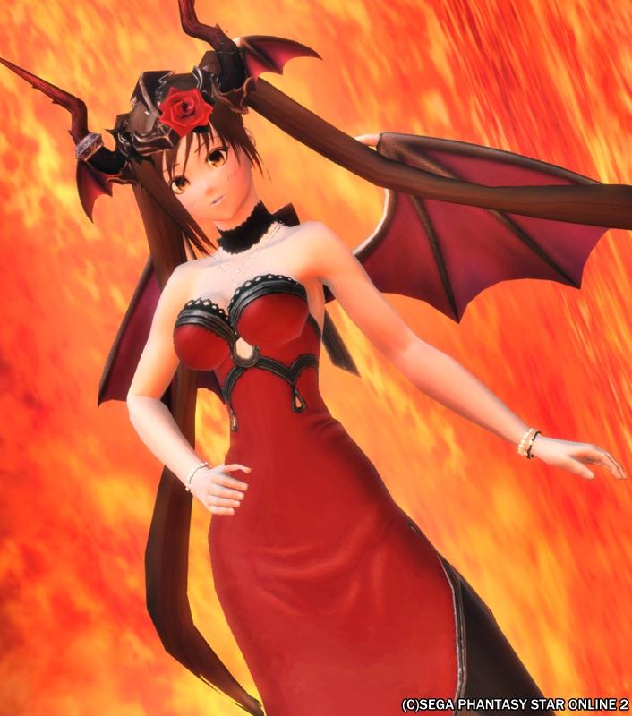 悪魔っ娘のドレスにちょうど良いな(*´ω`*)
