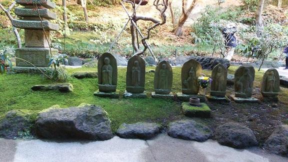 報国寺の石仏