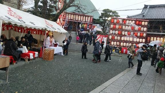 本覺寺の正月