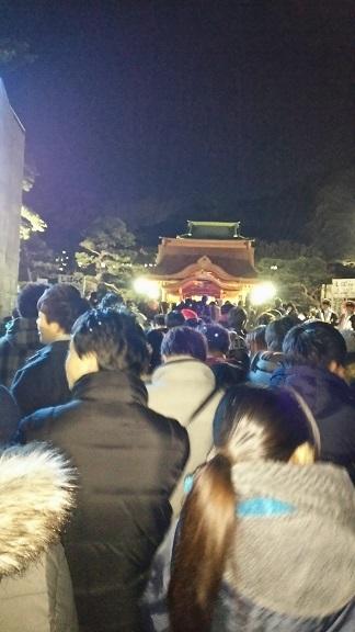八幡様の初詣