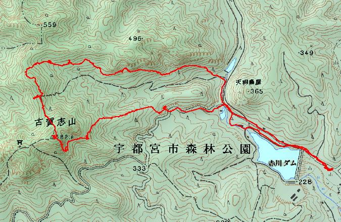 2015-5-15古賀志山登山