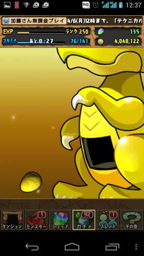 金卵再び!今度こそは。。。!