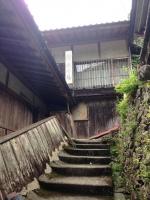 瀞ホテル入口階段