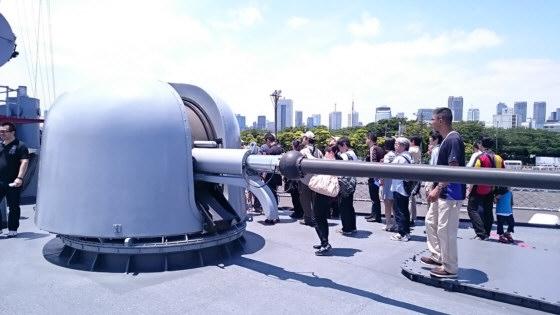 76mm単装砲塔