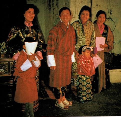 ブータン王国にて
