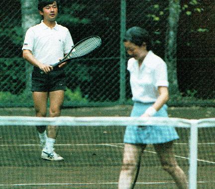 殿下のテニスウェア