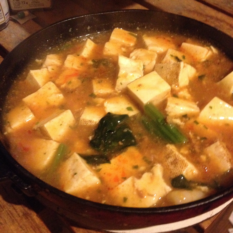 単純麻婆豆腐