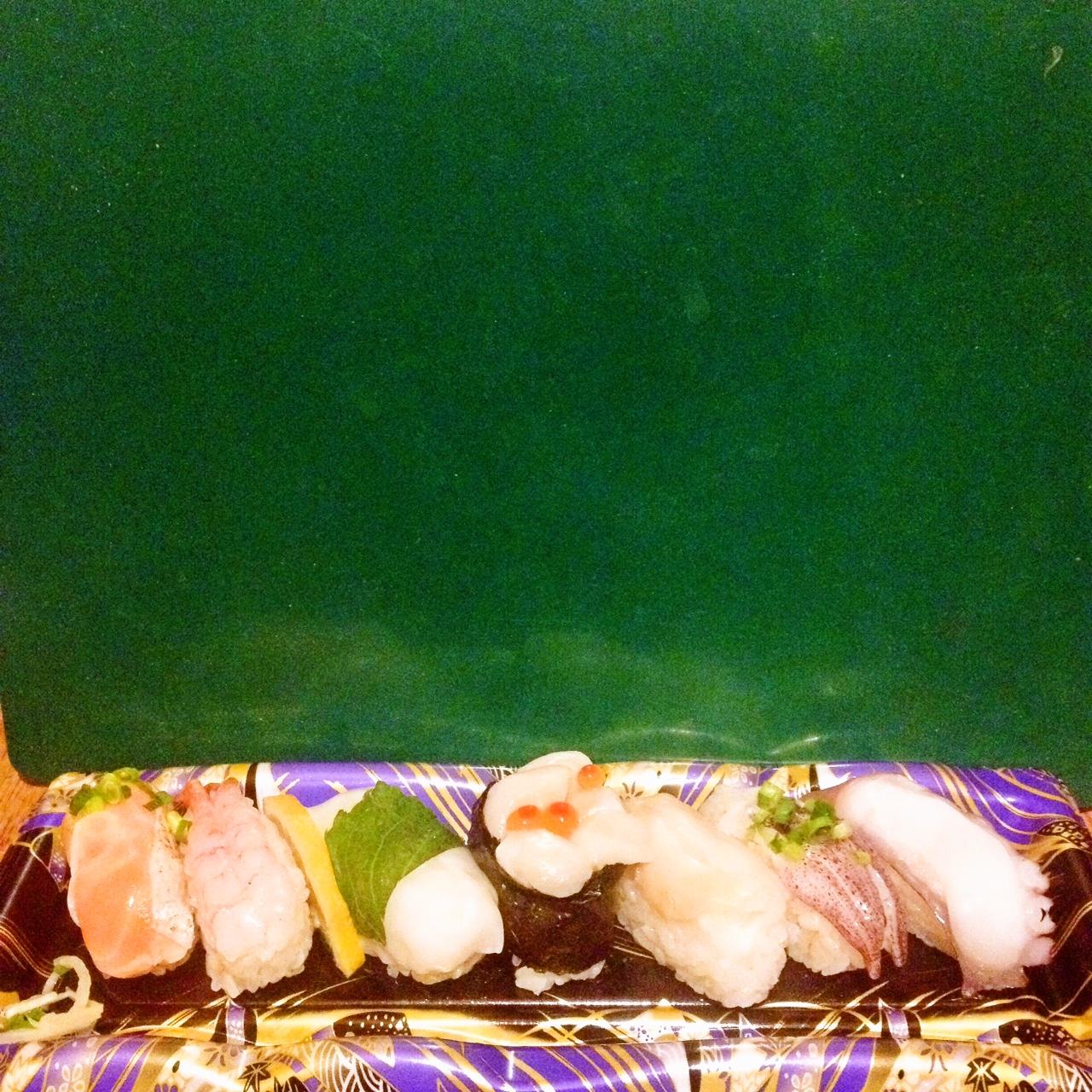 マックスバリュの無脂肪お寿司
