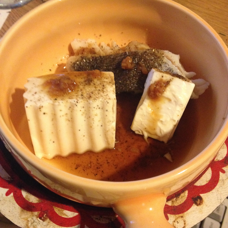 純粋鱈湯豆腐