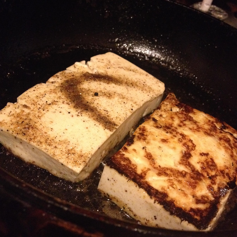 豆腐ステーキ(生姜なし)