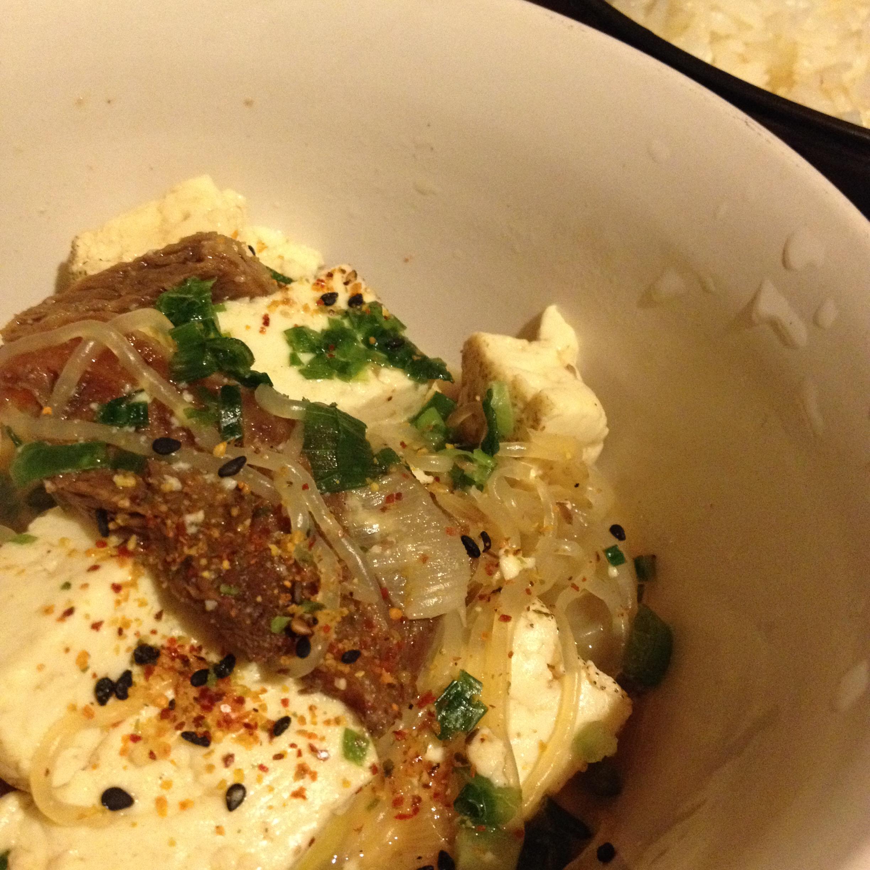 インチキ肉豆腐