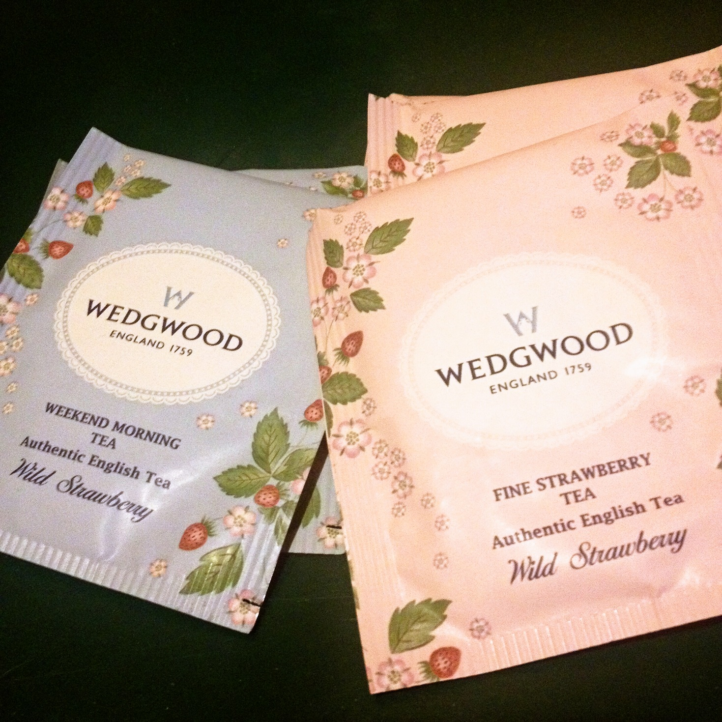 Wedgwood Wild Strawberry Teabag