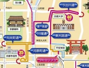 京都マラソンラスト
