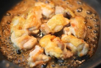 ノンオイルで作る鶏もも肉の照り焼き5