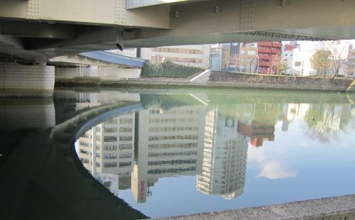 広島大橋下