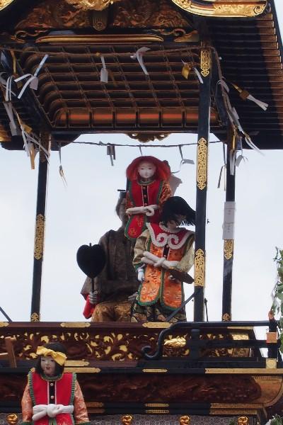 名古屋市東区 徳川園 徳川園山車揃え 出来町の山車、王羲之車(おうぎししゃ)